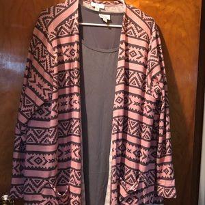 Lularoe Carolyn and Irma sweater set